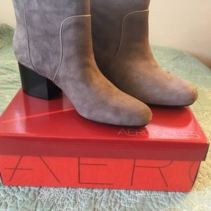 grey bootie boots